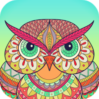 Colory: Free Mandala coloring book for adults