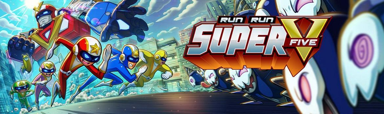 Run Run Super V, Running Game Bertemakan Super Sentai Terbaik!