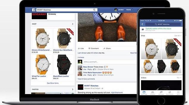 Di Facebook, Promosikan Produkmu dengan Fitur Shop Section