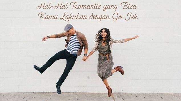 Hal-Hal Romantis yang Bisa Dilakukan dengan Go-Jek
