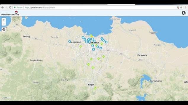 Laporkan Informasi Banjir pada PetaBencana.id