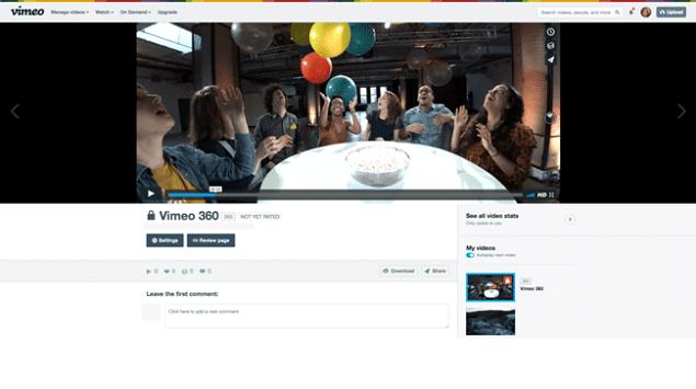 Vimeo Hadirkan Format Video 360 Derajat