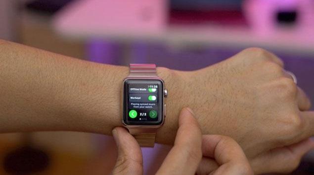 Segera, Layanan Spotify di Apple Watch via Aplikasi Snowy