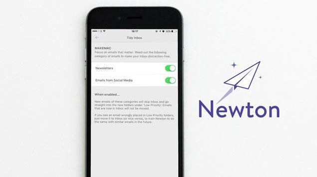 Newton Luncurkan Tidy Inbox, Pisahkan Email Tidak Penting dari Inbox