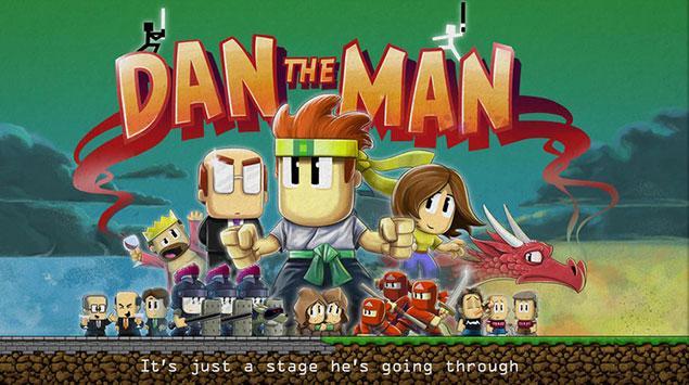 Dan the Man, Game Platformer plus Gebuk-gebukan dari Kreator Jetpack Joyride