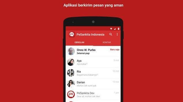PeSankita, Aplikasi Chatting Canggih Buatan Anak Bangsa