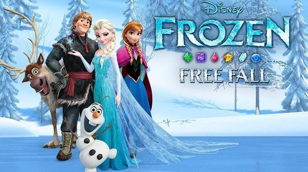 """Serunya """"Terjun Bebas"""" bersama Frozen Free Fall"""