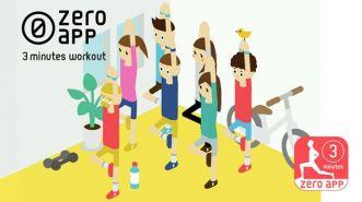 3 Minutes Workout, Olahraga Anti Mager ala Zero App