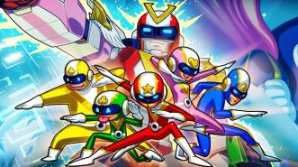 Run Run Super V, Running Game Bertemakan Super Sentai Terbaik!