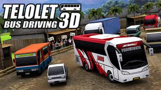 Telolet Bus Driving 3D, Game Mengendarai Bus Telolet