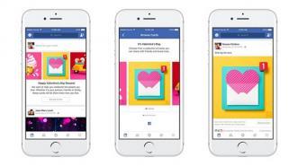 Hari Valentine, Facebook Munculkan Fitur Khusus