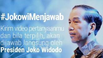 Di Media Sosial, Presiden RI Buka Sesi #JokowiMenjawab