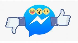 Ujicoba Facebook untuk Tombol Emoji, Like & Dislike pada Messenger