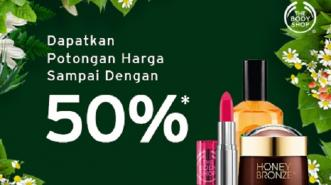 Di LINE SHOPPING, Ada Potongan Diskon 50% dari THE BODY SHOP!