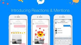 Akhirnya, Ada Tombol Reactions & Mentions di Facebook Messenger