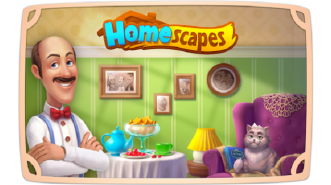Dekorasi Rumah sambil Main Puzzle Match-Three dalam Homescapes