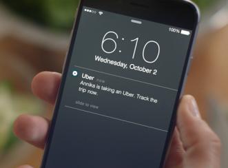 Pantau Keluarga dalam Perjalanan dengan Uber