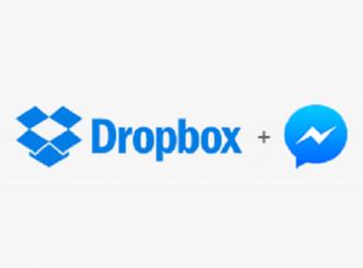 Kini, Bisa Kirim File Dropbox via FB Messenger