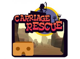 Memanah di Gurun Pasir dalam Carriage Rescue VR