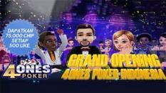 Surgagame Luncurkan 4Ones Poker di Indonesia