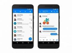 Kecenya Tampilan Baru FB Messenger di Android