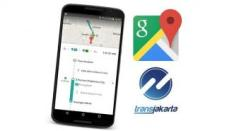 Pakai Google Maps, Inilah Cara Memantau Jadwal Kedatangan Bus TransJakarta