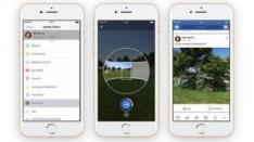 Kini, Bisa Ambil Foto 360 Derajat dengan Aplikasi Facebook!