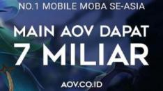 AOV Gelar Turnamen eSports, Total Hadiahnya Capai 7 Milyar Rupiah