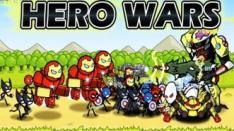 HERO WARS: Super Stickman Defense, Para Superhero Tiruan Berperang Membela Bumi