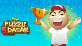 Populer di Webtoon LINE, Si Udin Bermain Puzzle 5 Dasar
