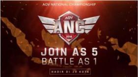 ANC 2018, Turnamen Nasional Arena of Valor Mencari Juara Baru