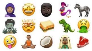 iOS Hadirkan Emoji Baru, dari Dinosaurus hingga Zombie